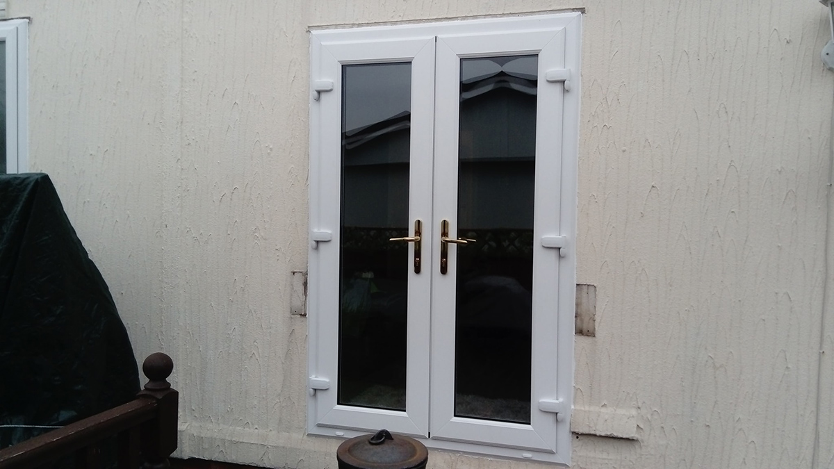 french door white